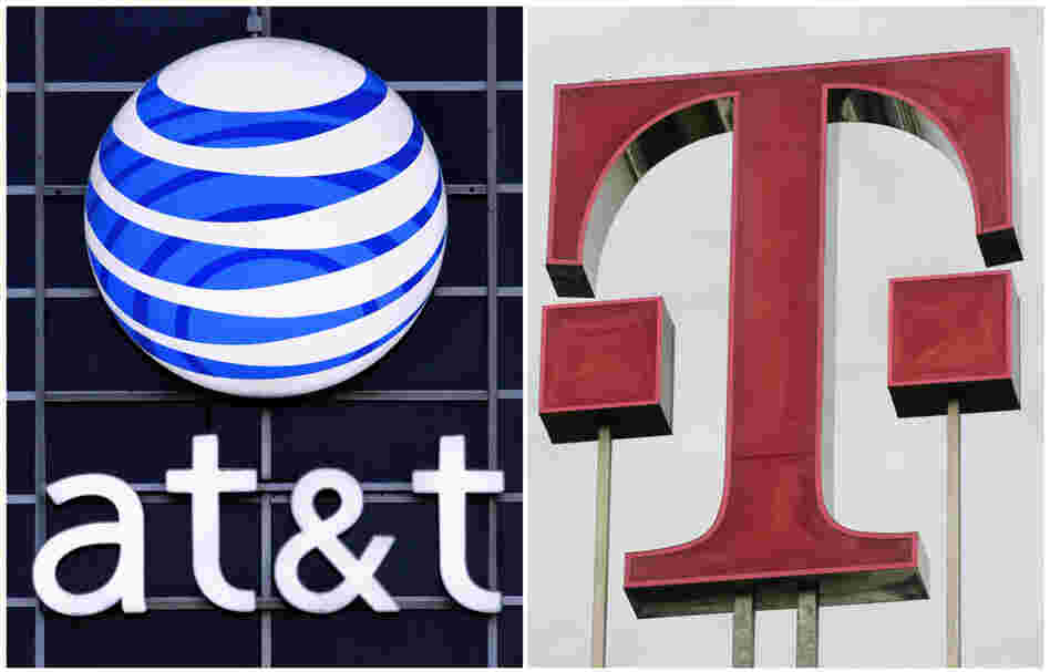AT&T plans to acquire T-Mobile USA in a cash-and-stock deal valued at $39 billion. It would become the largest U.S. cellphone company.