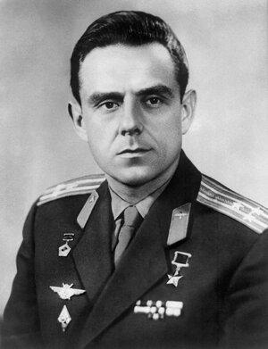 Vladimir Komarov, doomed cosmonaut