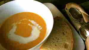 Sassy squash soup.