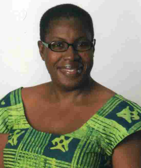 Agnes Fallah Kamara-Umunna lives in New York City, where she records the stories of Liberians living in the U.S.