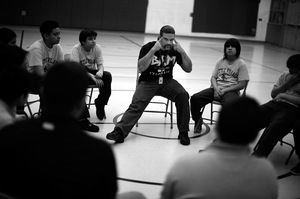 Tony DiVittorio, a social worker, created BAM. The program operates in 16 Chicago public schools and is built around core principles of integrity, accountability and finding positive ways to express anger.