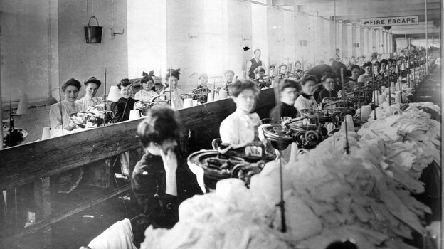Young Laborers: Most of the garment workers in the Triangle Shirtwaist factory were young, immigrant women. On March 25, 1911, the New York City building caught fire, and 146 worker