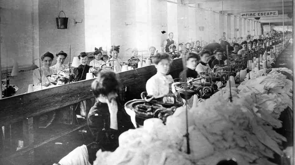 Young Laborers: Most of the garment workers in the Triangle Shirtwaist factory were young, immigrant women. On March 25, 1911, the New York City building caught fire, and 146 workers lost their lives in one the country's worst workplace tragedies.
