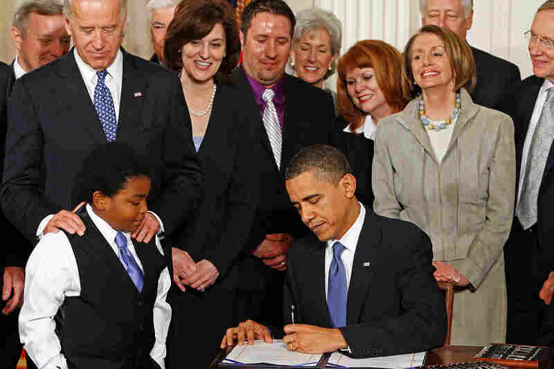 President Obama signed the Patient Protection and Affordable Care Act on March 23, 2010.