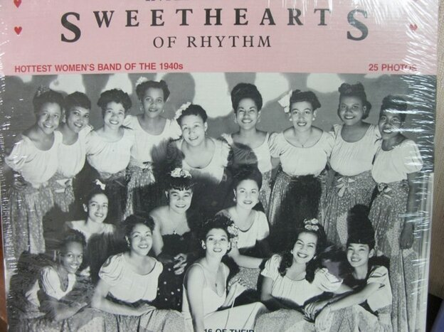 From the cover art to the International Sweethearts of Rhythm compilation album.