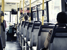 Interior of bus/iStockphoto.com