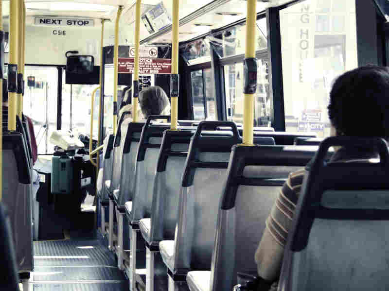 Interior of bus/iStockphoto.com