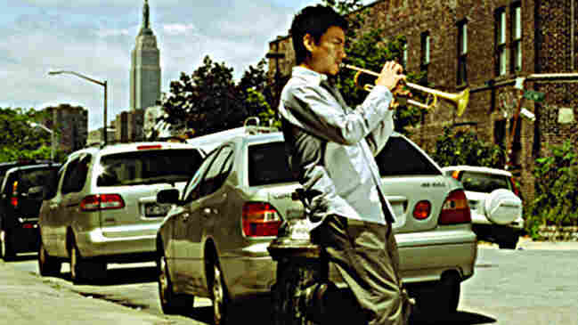 Takuya Kuroda's trumpet is exciting and bright, with a touch of Dizzy Gillespie in tone.