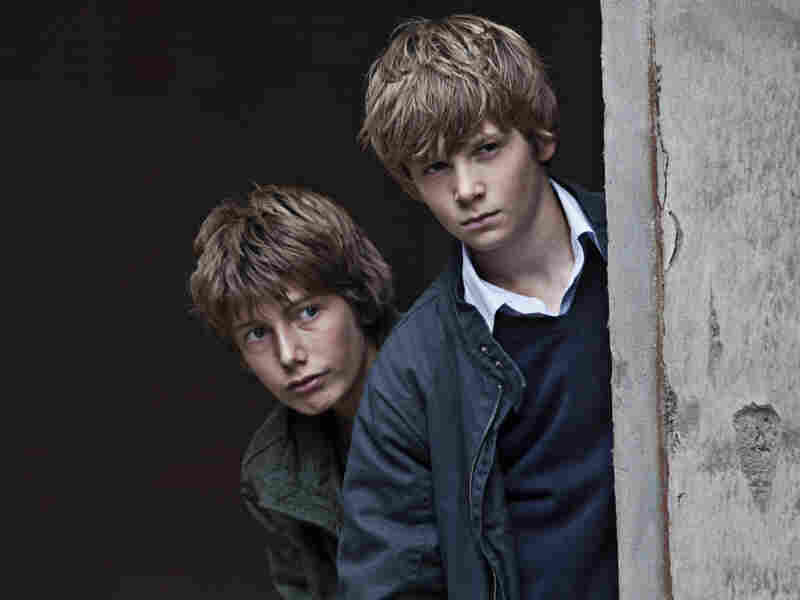 Elias (Markus Rygaard, left) finds a kindred spirit in Christian (William Johnk Nielsen), a seemingly polite boy who encourages him to fight violence with additional violence.