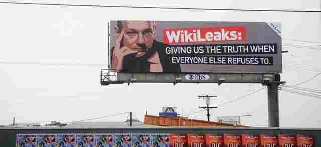 A billboard in Hollywood, California.