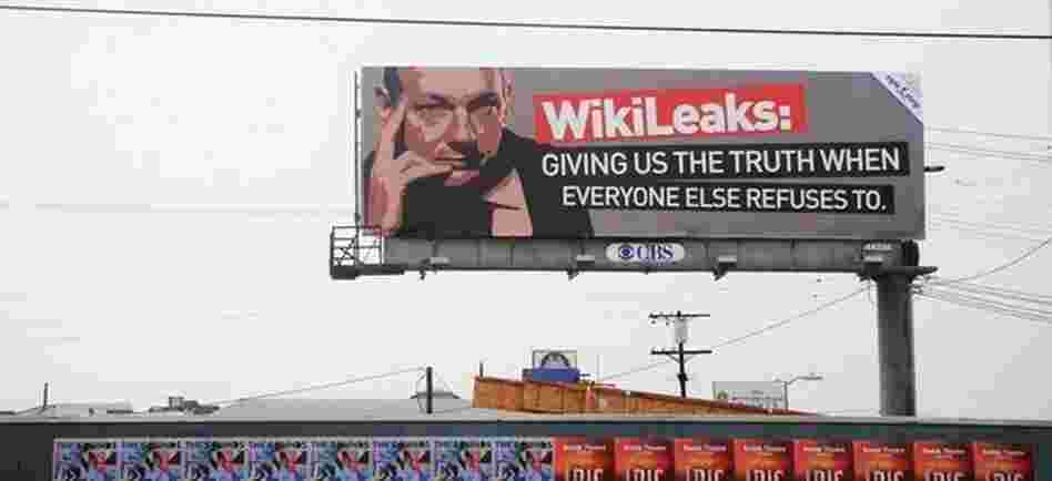 A billboard in Hollywood, California.
