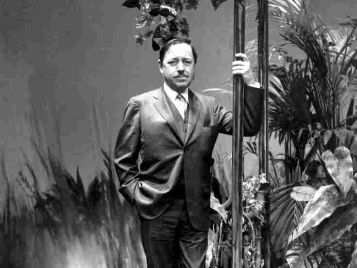 After his initial success, Williams — pictured on the set of The Night of the Iguana at London's Savoy Theatre — traveled often, looking for inspiration to stimulate his writing.
