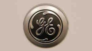 The G.E. logo.