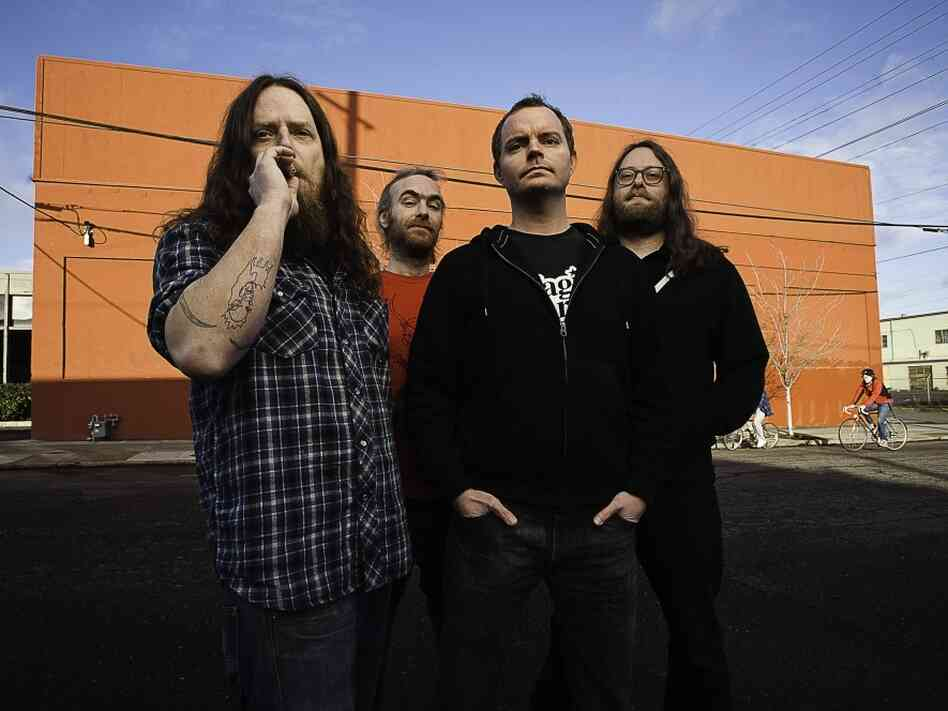 Red Fang's Murder the Mountains will be released on April 12 on Relapse Records.