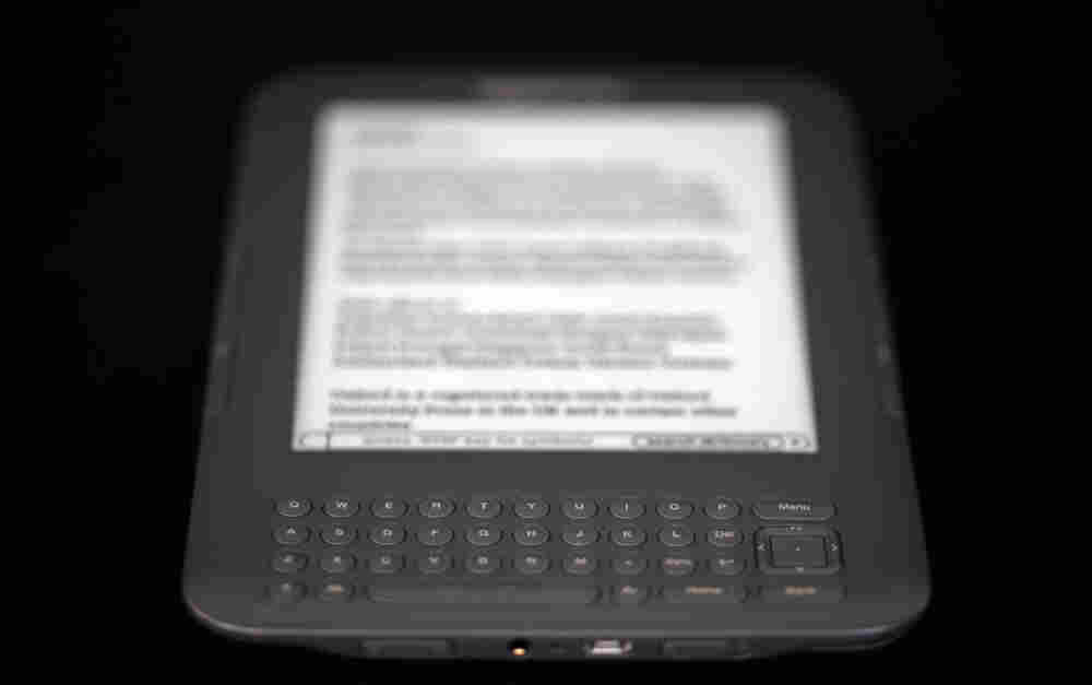 The Amazon Kindle 3G reader, or, alternatively, a tablet.