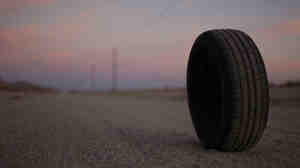 "They See Me Rollin': ""Robert"" is a tire with telekinetic powers — and an increasingly unpleasant way of putting them to work — in Quentin Dupieux's consciously anarchic horror comedy Rubber."