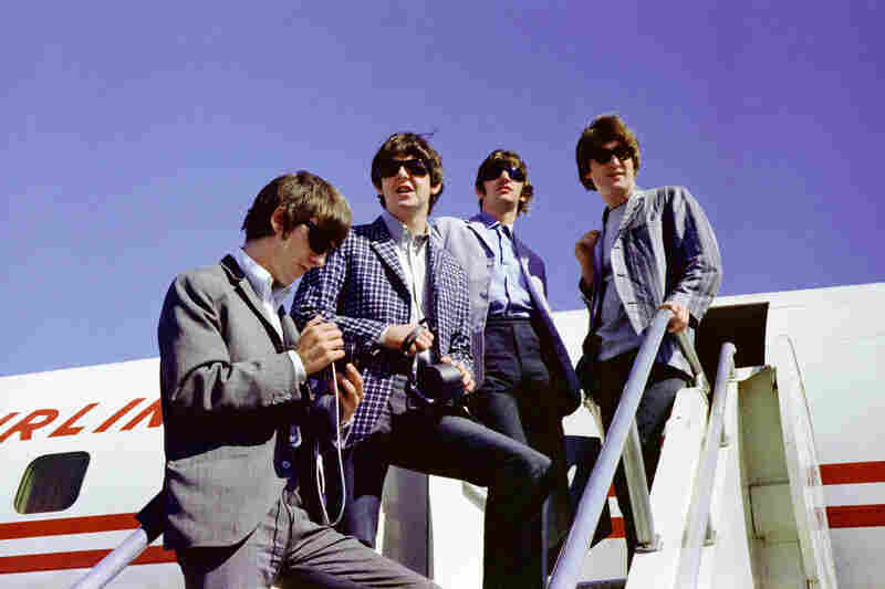 At Seattle-Tacoma airport, The Beatles boarded their chartered plane bound for Vancouver to give their first-ever Canadian concert, at the Empire Stadium, on Aug. 22, 1964. It would be the fourth show on their first U.S. tour.