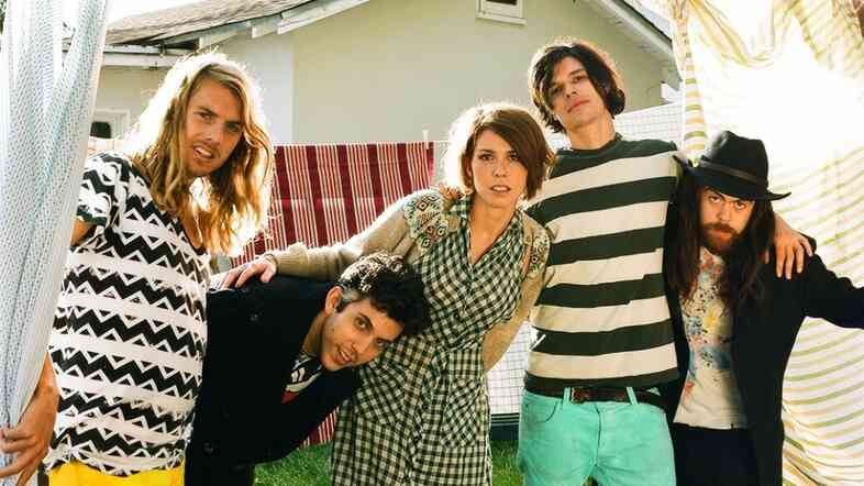 Grouplove made its U.S. radio debut on KCRW's Morning Becomes Eclectic.