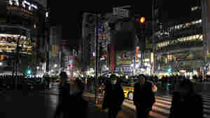 Tokyo Sees Its Lights Go Dim, And Lifestyles Change