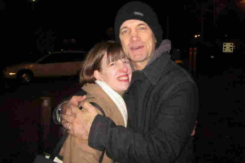 """Snuggling with Chris Isaak after the show on Dec. 7, 2010! Swoon!!! I can't imagine why, but he seemed to take a shine to me both during and after the show (which was fantastic... and I'd been waiting to see him live for over 20 years, since I was in high school). I knew he's known to flirt with ladies in the audience, but I never expected to be singled out more than once. A friend told me he ..."