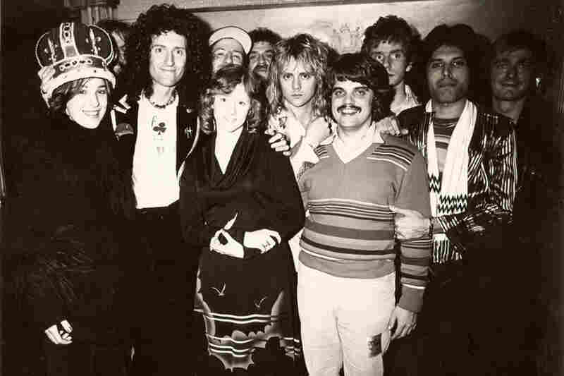"""In 1977, when I was 16, my friend and I won a contest on a local St. Louis radio station, to Find the Queen's Crown. We found it and had a limo ride, third-row seats and dinner with the band and their entourage. It was pretty awesome. Chatted with Brian May for most of the dinner. Unforgettable night! Inspired me to play music, and I still play in a band every weekend here in Charleston..."