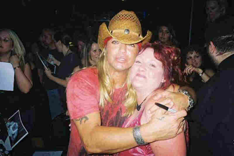 """Bret Michaels of Poison. Ohhh my boy! I am the biggest Bret Michaels fan ever, and have his signature tattooed on my shoulder.I traveled in a blizzard to Wendover, Nev., hung around his bus outside in the freezing weather, schmoozed my way into getting to know his crew and now have a backstage pass for life tattooed on my shoulder! I Love Poison and Bret!"""