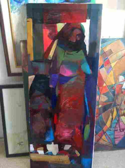 """Artists from the """"sanctions generation"""" depict Iraqi women with a modernist sensibility."""