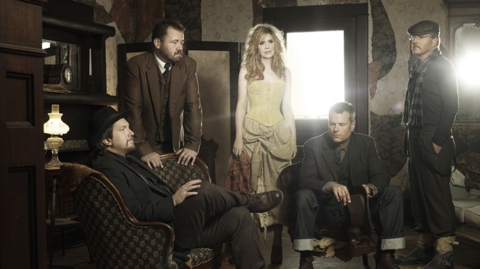 Alison Krauss and Union Station's new album is titled Paper Airplane. (Courtesy of the artist)