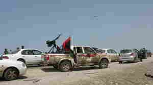 Libya's Retreating Rebels Dogged By Confusion