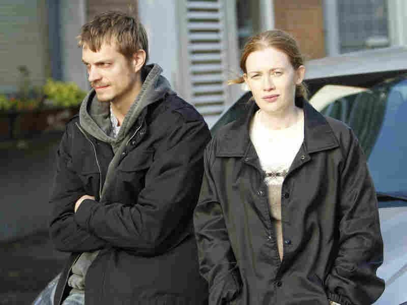 Joel Kinnaman and Mireille Enos star in The Killing, a new AMC drama based on a Danish miniseries.