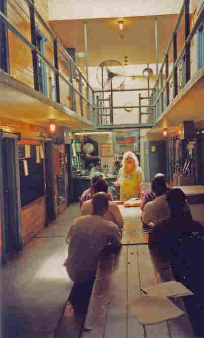 "Marie Hamilton, Prison VolunteerMelanie writes: ""One woman who has inspired me is Marie Hamilton, shown in this photo inside a state prison cell block in Pennsylvania, where she spent 33 years as a volunteer, going in every week to help incarcerated men learn skills for a better life on the outside. ..."""