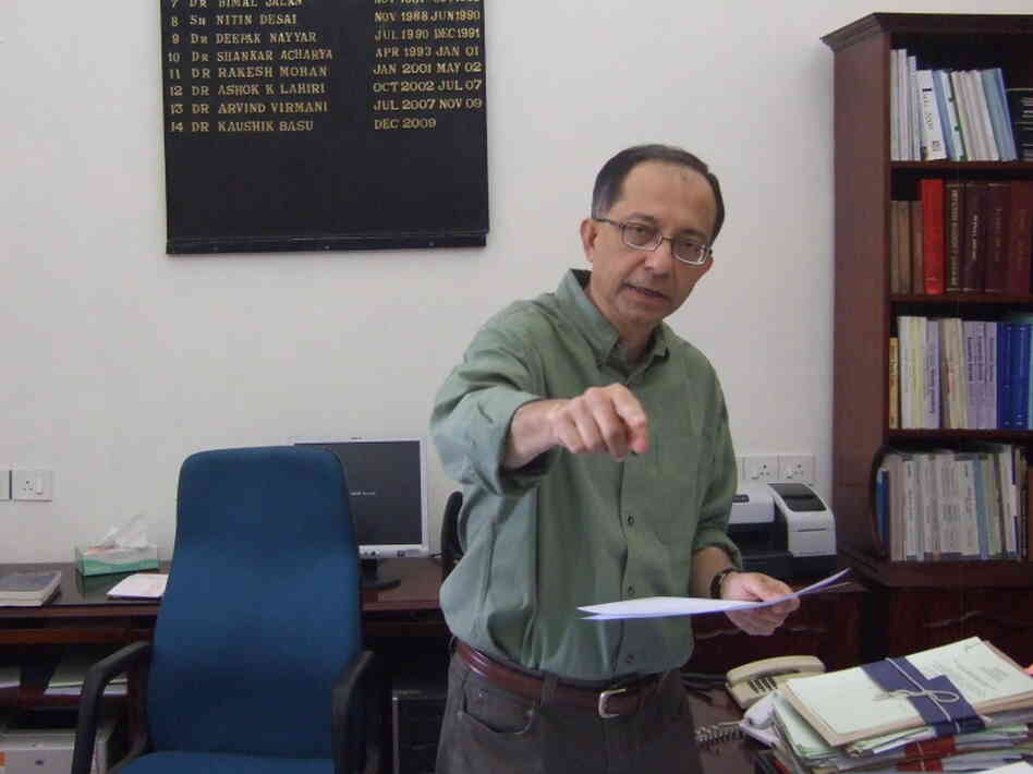 Kaushik Basu wants a word with you.