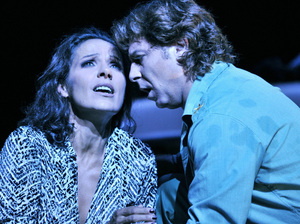 The tortured relationship between Carmen (mezzo-soprano Beatrice Uria-Monzon) and Don Jose (tenor Roberto Alagna) is at the center of one of opera's biggest blockbusters.