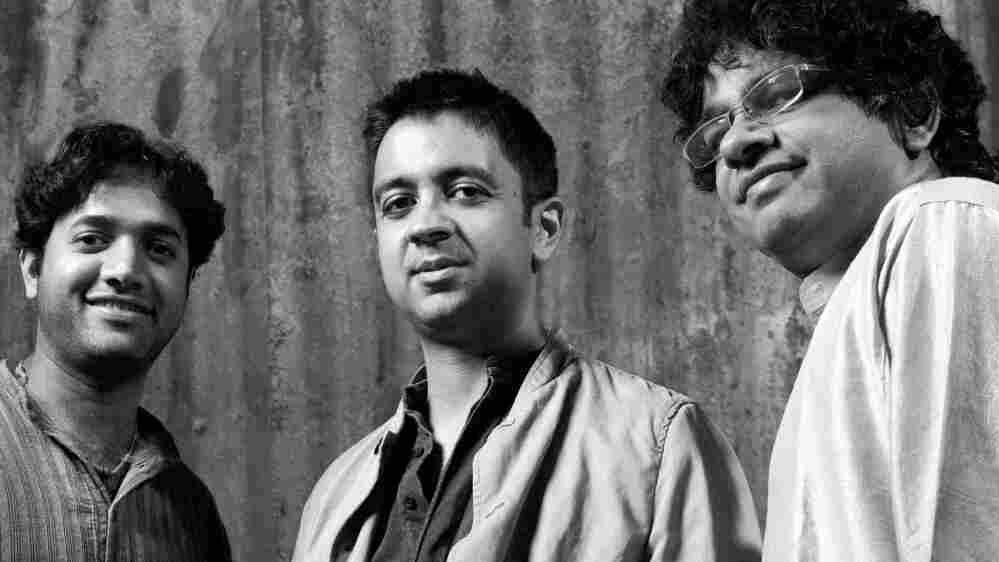 Nitin Mitta, Vijay Iyer and Prasanna make up the new trio Tirtha.