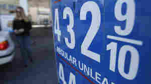 In some parts of the country, like San Diego (above), gas prices are above $4 a gallon. Some Republicans are trying to tie those higher prices at the pump to President Obama's energy policies.