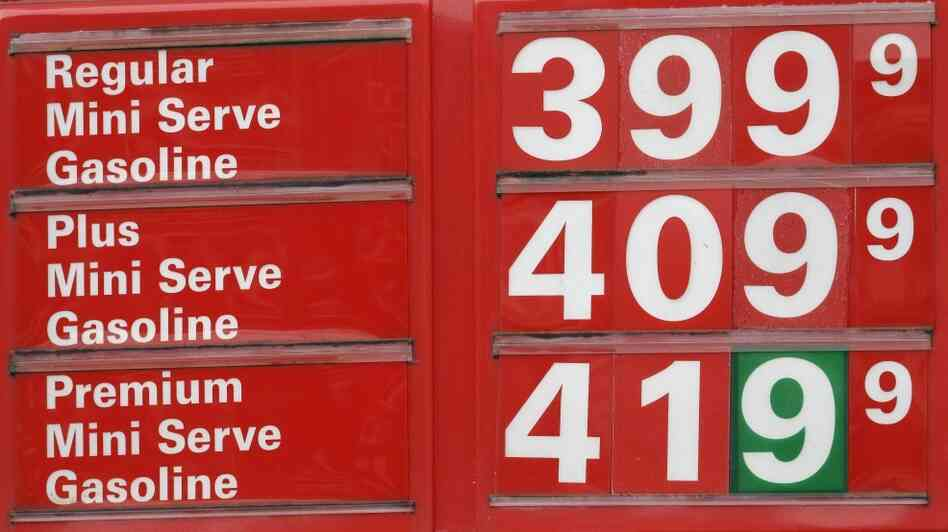 They're likely to push other prices up too: Tuesday's pump prices in Portland, Ore.