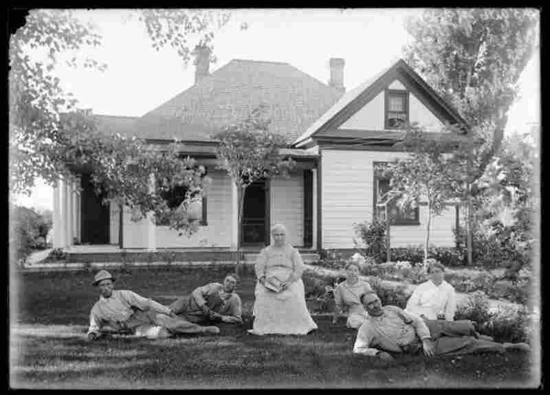 Mrs. Barney, Lake Shore, 1914