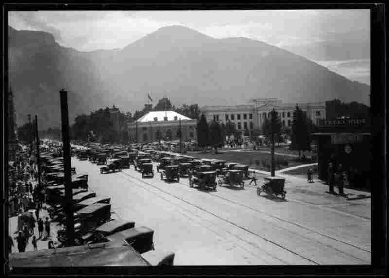 Street Scene in Provo, 1920