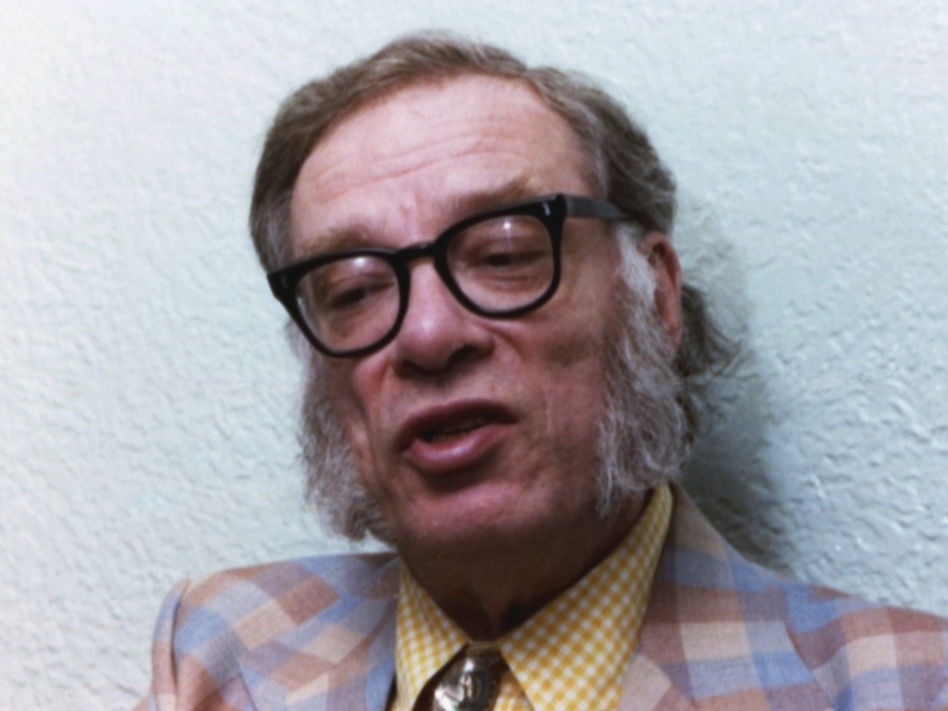 Portrait of author Isaac Asimov taken in 1978 at an unknown location. (Anonymous/ASSOCIATED PRESS)