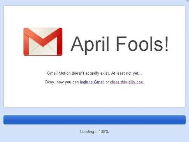 Google's April Fool