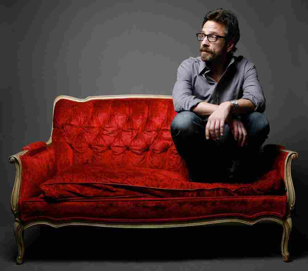 Comedian Marc Maron is the host of WTF, a popular interview podcast.