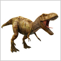 Illustration of a T. Rex