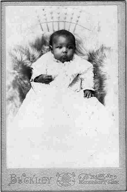 """Child's PortraitMost images of African-Americans in the early 20th century are portraits of poverty. Bunch came across a remarkable collection of """"cabinet cards"""" — portraits of middle-class blacks who were otherwise """"invisible to most people."""""""