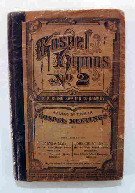 """Harriet Tubman's Signed Hymnal""""This is one of the great treasures of the museum,"""" Bunch says. One of the ways Tubman signaled slaves was by singing hymns. """"So she'd sing 'Steal Away to Jesus' or 'Swing Low, Sweet Chariot,' and you would know it's time to go. And so to be able to have a hymnal that has those songs in it that was hers is just pretty amazing."""""""