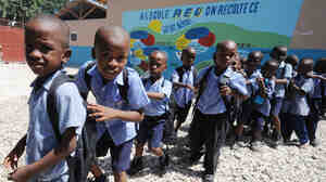 Haiti's 2010 earthquake destroyed more than 80 percent of schools in and around Port-au-Prince.