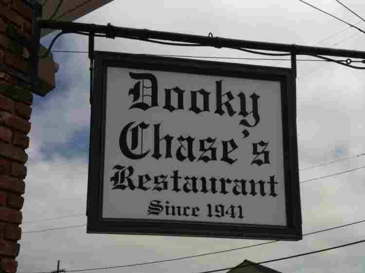 Dooky Chase sign.