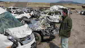 Japan's Car Owners Search In Huge 'Graveyards'