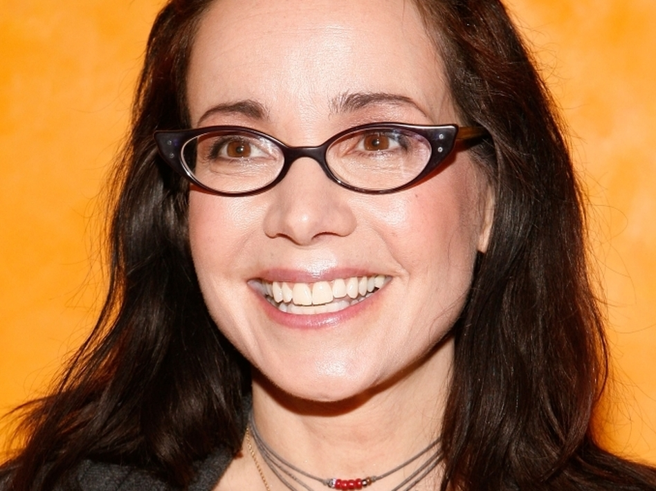 Janeane Garofalo is the co-author of the book Feel This Book. (Getty Images)