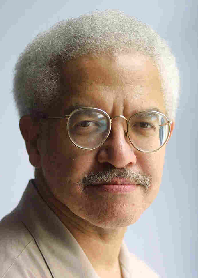 "Manning Marable, pictured above in 2001, died Friday, just days before the publication of his life's work, a new biography of Malcolm X. ""He was trying to save people with his ideas,"" says Marable's researcher, Zaheer Ali."