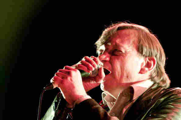 Mark E. Smith of The Fall. Look into his eyes and think of something profound to say.